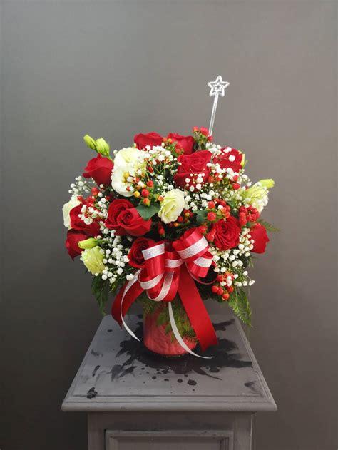 แจกันดอกไม้สด (จัสมิน) - ร้านดอกไม้ แหม่มปากคลองตลาด