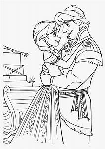 Images Of Kristoff And Anna Coloring Pages