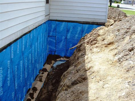 Basement Waterproofing Sealing Exterior Basement Walls