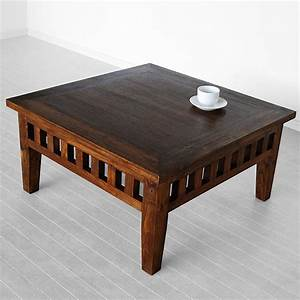 square coffee table indoor teak furniture With teak coffee table indoor