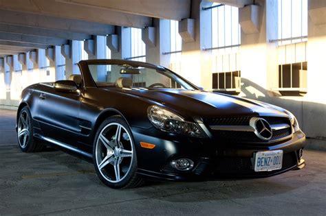 The Mercedes-benz Sl550 Night