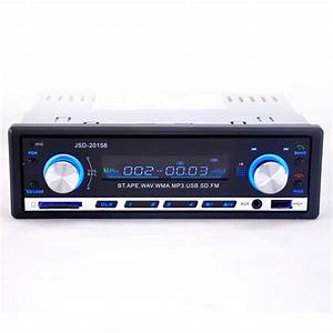 Mp3 Player Auto : jsd 520 bluetooth vehicle car mp3 player stereo with fm ~ Kayakingforconservation.com Haus und Dekorationen