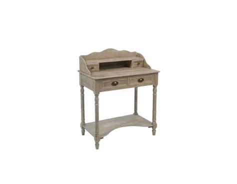 bureau secretaire bois bureau secrétaire cérusé meuble charme pas cher jolipa