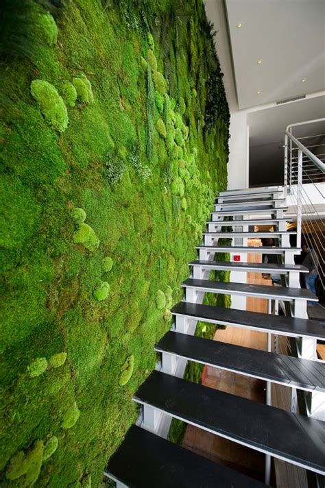peaceful indoor living wall designs   home digsdigs