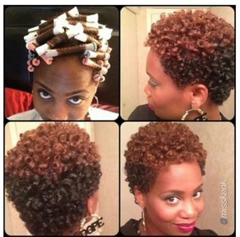 black rodded hairstyles bing images short natural hair