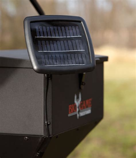 deer feeder solar panel big feeder 12 volt solar panel gf012s able ammo