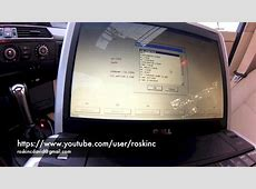 BMW E60 5 series How to code AUX in Idrive ncs expert step