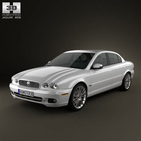 Jaguar X-type Saloon 2009 By Humster3d
