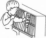 Put Coloring Bookshelf Pages Kid Shelf Drawing Place Getdrawings Getcolorings sketch template