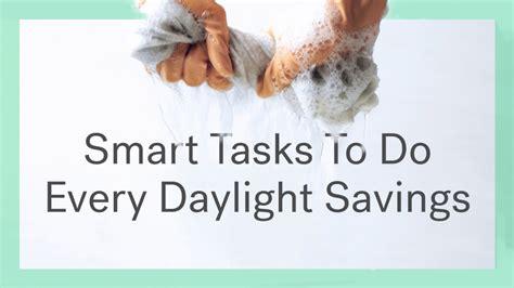 daylight savings time change homeowners life