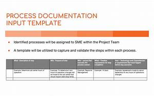 business process documentation template 28 images With how to write a business process document