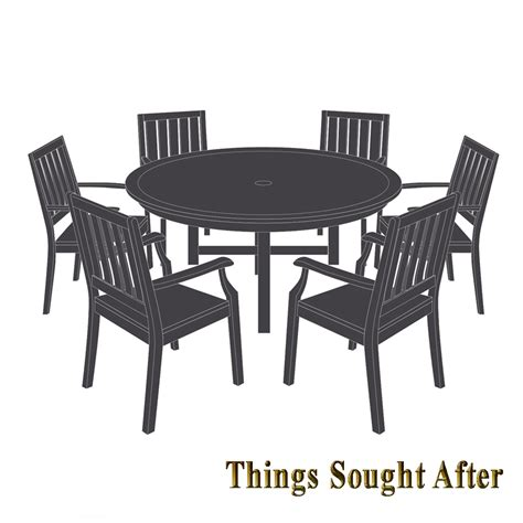 Patio Table And 6 Chairs by Cover For Large Patio Table Six Chairs 6 Outdoor