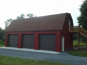 car pole garage gambrel roof customer projects september With 20x30 garage kits