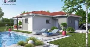 maison plain pied en t maisons ideales With site de plan de maison 15 hartmannswillerkopf