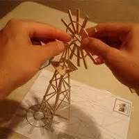 toothpick sculpture   build structures