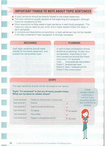 English Compositions Writing Guide For O