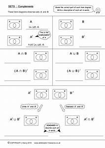 Venn Diagrams - 3 Sets By Skillsheets