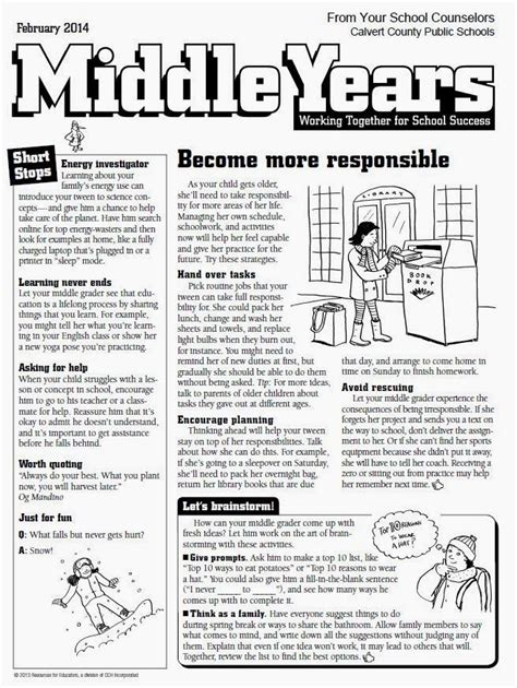 images  middle school counselor newsletter