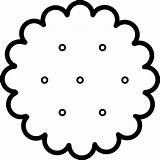 Cracker Clipart Crackers Clip Snack Kb Svg I2clipart Cliparts Domain Embed Clipground 20white 20clipart 20and 20black sketch template