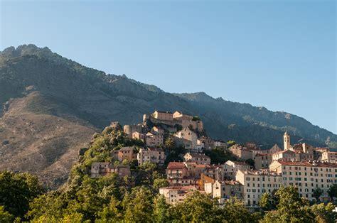corte village  corsica thousand wonders