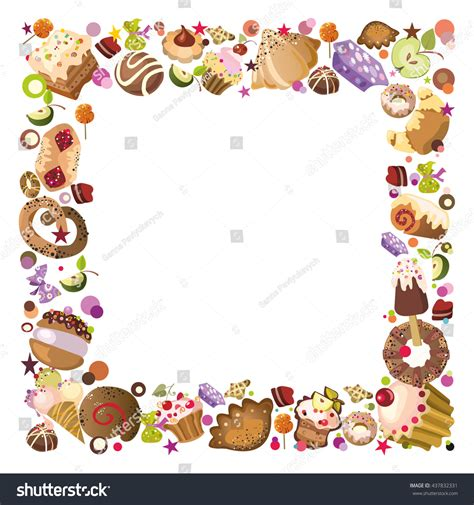 Pastry Clipart Pastry Clipart Border Pencil And In Color Pastry Clipart