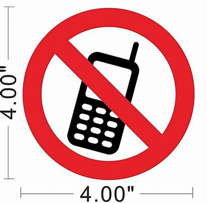 Cell Phone Printable Clipart Sign Signs Clip