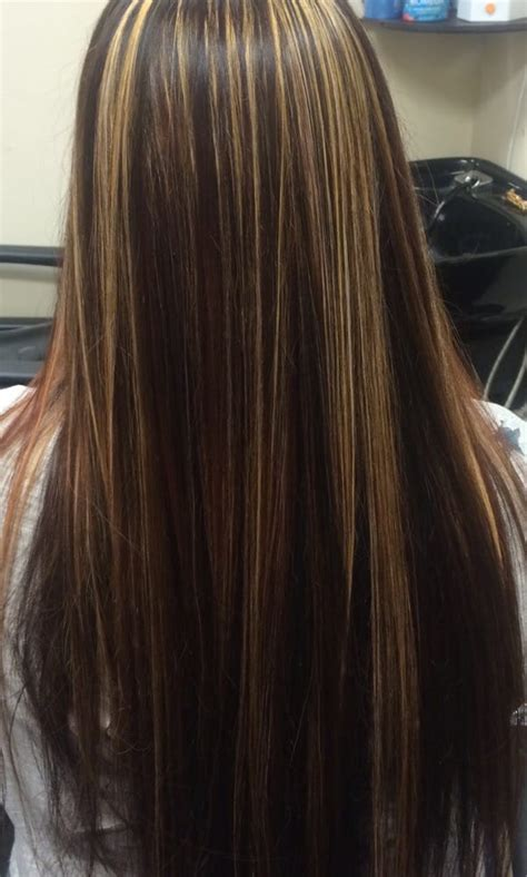 granite and chocolate hair color brown hairs