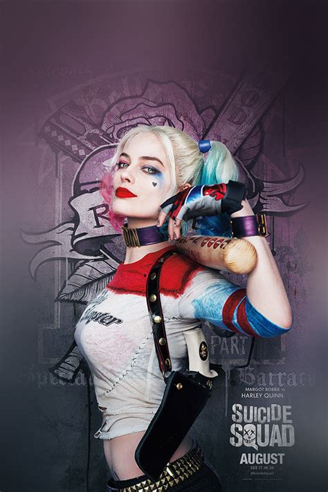 suicide squad poster film art hall harley quinn wallpaper