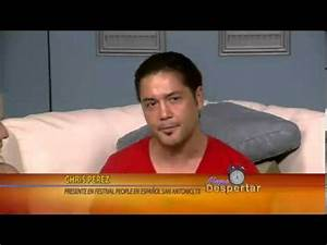 Chris Perez en Alegre Despertar - YouTube