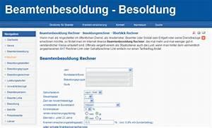 Witwenrente Berechnen Beamte : mit beamtenbesoldung rechner besoldung selbst berechnen ~ Themetempest.com Abrechnung