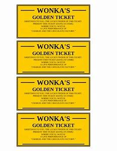 golden ticket editable by shawn snyder teachers pay With golden ticket template editable
