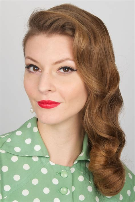 1940s hairstyles for long hair elle hairstyles