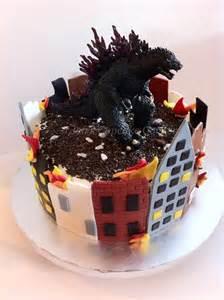 Godzilla Birthday Cake Ideas