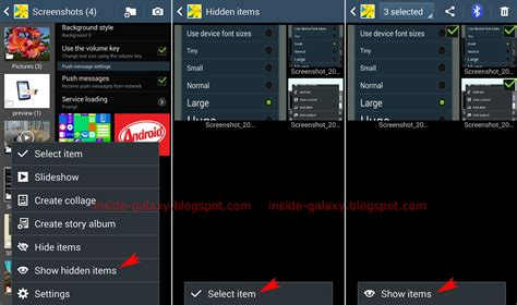 how to hide apps on android samsung galaxy s4 how to hide or show pictures or
