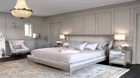 decorating ideas for master bedrooms غرف نوم فضي silver bedrooms