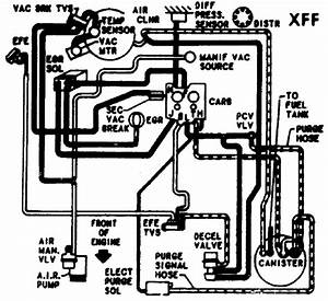 Ca Emission Hose Routing Diagram For 1984 Chevy Blazer K5