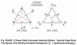 3 Phase  Delta  Motor Drawings  1