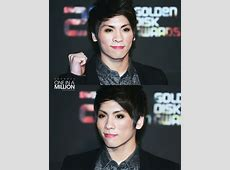 Korean male celebrities with girly makeup part II