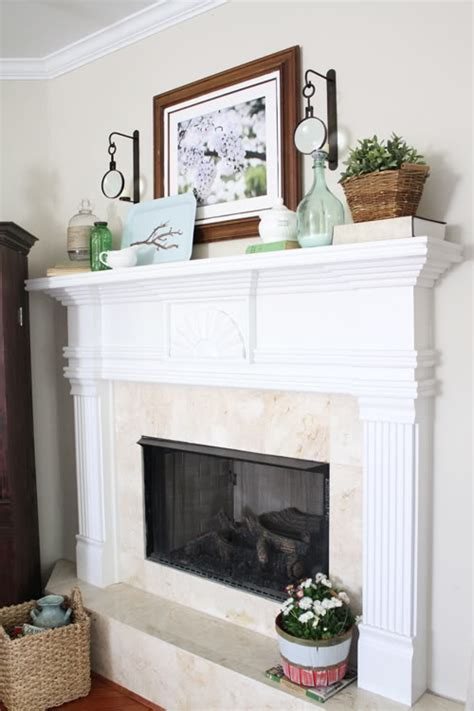 gorgeous spring mantels decorate mantel home stories a to z