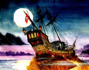 Spooky Pirate Ship