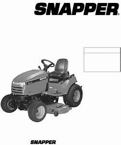 Snapper Lawn Mower Sgt27540d  Sgt27540d  Sgt27540d