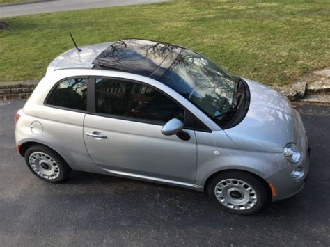 Fiat Sunroof by Fiat 500 Pop Silver Auto Sunroof 20 600 1 Owner