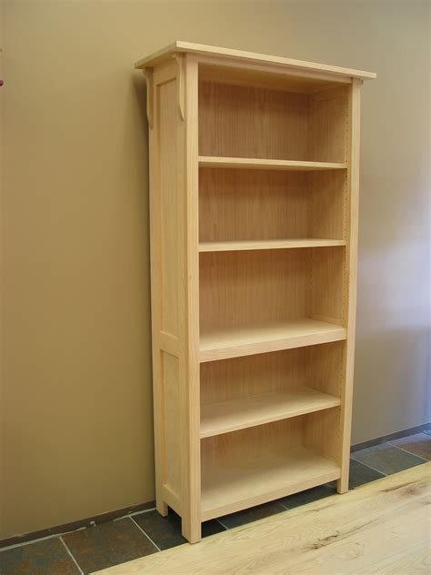 "Mission Bookcase 17 34"" Deep"