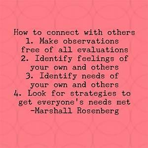 Nonviolent communication steps | Inspiration | Nonviolent ...