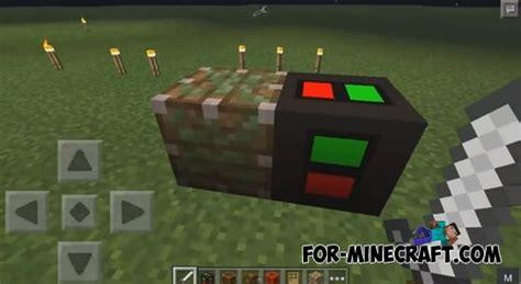 Redstone Ls Minecraft Pocket Edition by Redstone Mod For Minecraft Pocket Edition 0 10 4