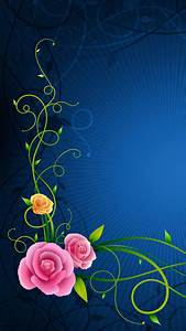Flowers Lines Patterns HD Wallpapers for Android Mobile