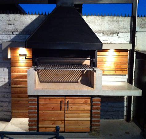 tettoie in muratura tettoie in legno per barbecue con visione laterale di