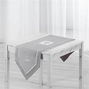 Chemin De Table Moderne : sets et chemin de table gris achat vente sets et chemin de table gris pas cher les soldes ~ Teatrodelosmanantiales.com Idées de Décoration