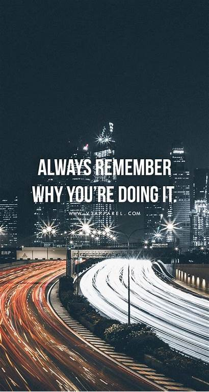 Quotes Motivation Wallpapers Remember Motivational Why Always