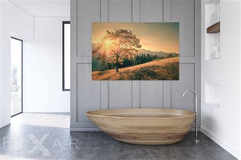 Schöne Bilder Fürs Badezimmer by Sch 246 Ne Sonne 252 Ber Das Hochland Poster Und Wandbilder